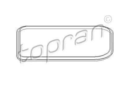 Прокладка поддона АКПП на Фольксваген Джетта TOPRAN 107 333.