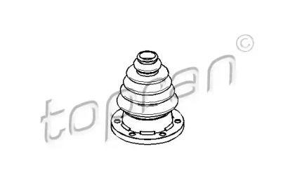 Пыльник ШРУСа на Сеат Леон 'TOPRAN 109 246'.