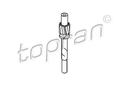 Трос спідометра TOPRAN 107 400.