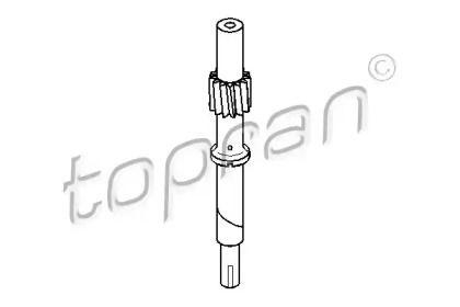 Тросик спидометра на Фольксваген Пассат 'TOPRAN 107 402'.