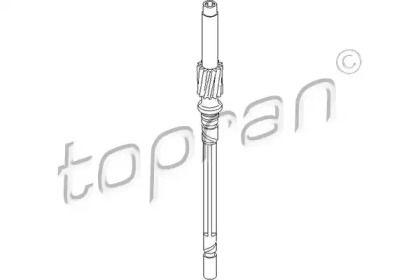 Тросик спидометра на VOLKSWAGEN PASSAT 'TOPRAN 107 535'.