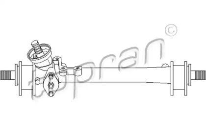 Механічна рульова рейка 'TOPRAN 102 795'.