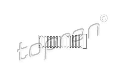 Пыльник рулевой рейки на VOLKSWAGEN PASSAT 'TOPRAN 104 154'.
