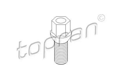 Болт колесный на Сеат Альтеа Хл 'TOPRAN 111 477'.