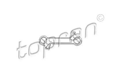 Шток вилки переключения передач 'TOPRAN 102 847'.