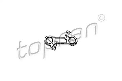 Шток вилки перемикання передач TOPRAN 103 078.