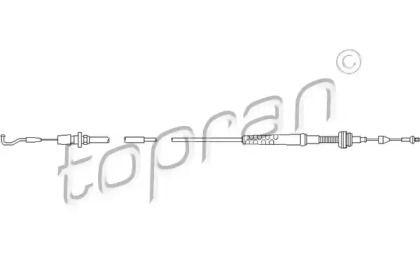 Тросик газа на Сеат Толедо 'TOPRAN 103 603'.