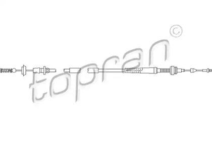 Тросик газа на SEAT TOLEDO 'TOPRAN 109 853'.