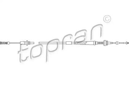 Тросик газа на Фольксваген Пассат TOPRAN 103 086.