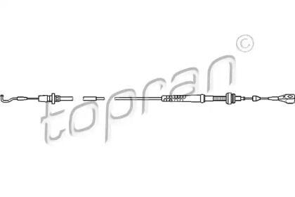 Тросик газа на Сеат Толедо 'TOPRAN 103 536'.