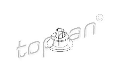 Кріплення бампера TOPRAN 102 864.