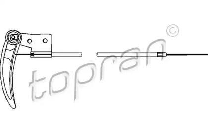 Трос замка капота 'TOPRAN 103 414'.