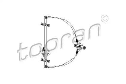 Передний левый стеклоподъемник на Сеат Толедо 'TOPRAN 103 177'.