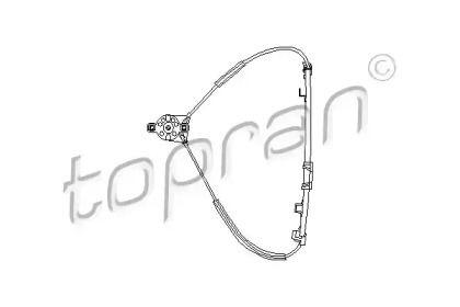Передний правый стеклоподъемник 'TOPRAN 102 887'.