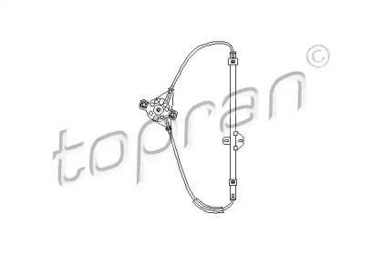 Задний правый стеклоподъемник 'TOPRAN 102 992'.