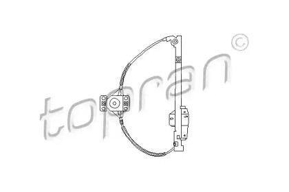 Задний правый стеклоподъемник на Фольксваген Пассат 'TOPRAN 103 594'.