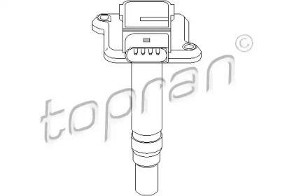 Котушка запалювання TOPRAN 109 540.