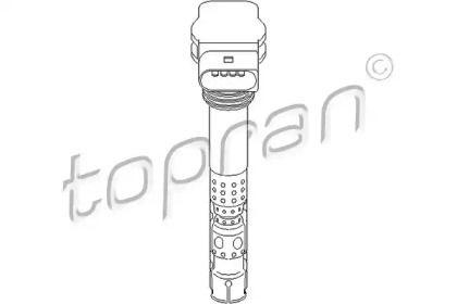 Котушка запалювання TOPRAN 110 572.