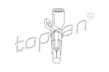 Датчик положення колінчастого валу на SKODA RAPID 'TOPRAN 112 231'.