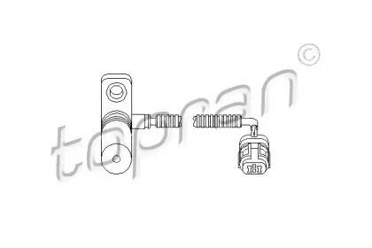 Датчик швидкості 'TOPRAN 111 374'.