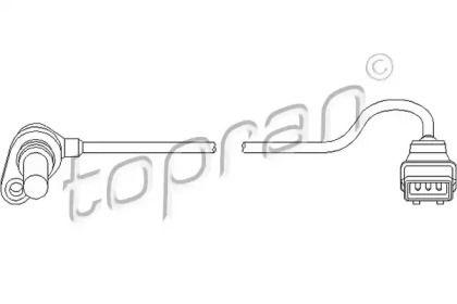 Датчик скорости на Фольксваген Гольф 'TOPRAN 111 400'.