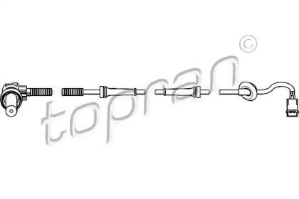 Датчик АБС передній TOPRAN 109 926.