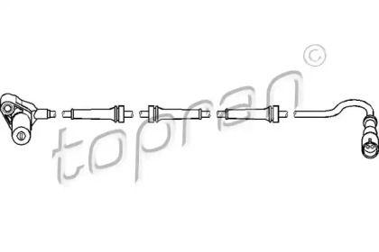 Датчик АБС задній лівий TOPRAN 111 077.