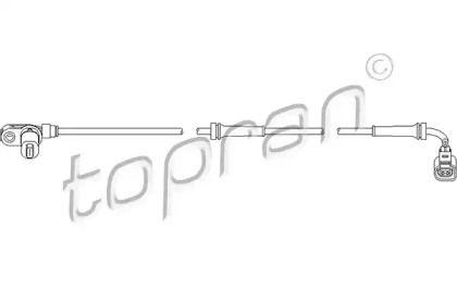 Датчик АБС передній TOPRAN 110 490.