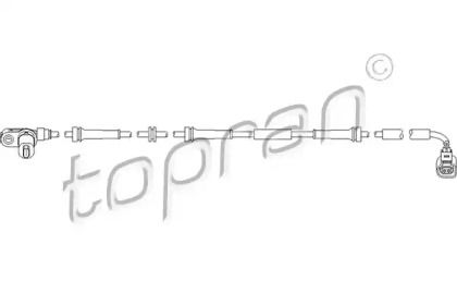 Датчик АБС задній TOPRAN 110 491.