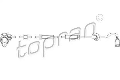 Датчик АБС задній TOPRAN 109 757.