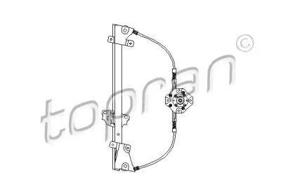 Передний левый стеклоподъемник 'TOPRAN 200 035'.