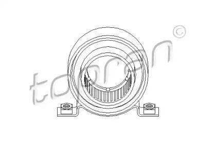 Підвісний підшипник карданного валу 'TOPRAN 200 786'.