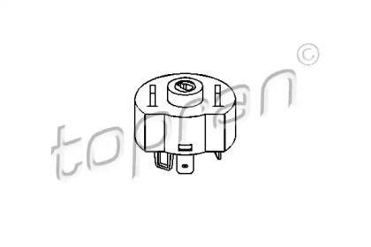 Контактна група замка запалювання TOPRAN 201 797.