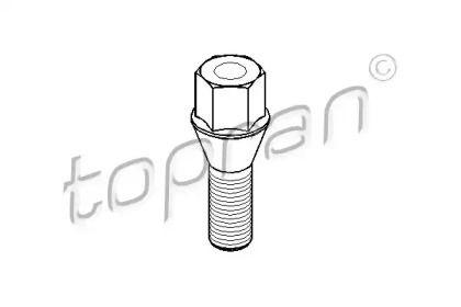 Болт колесный на Опель Тигра 'TOPRAN 201 852'.