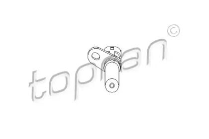 Датчик коленвала 'TOPRAN 206 904'.