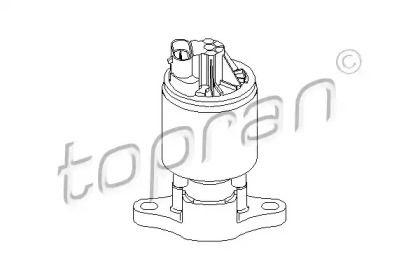 Клапан ЄГР (EGR) TOPRAN 205 868.