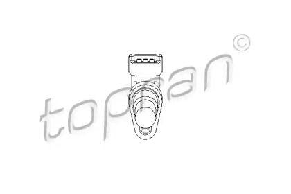 Датчик положення розподільного валу TOPRAN 206 841.
