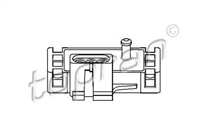 Датчик тиску наддуву TOPRAN 206 952.
