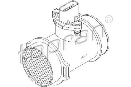 Регулятор потоку повітря TOPRAN 401 334.