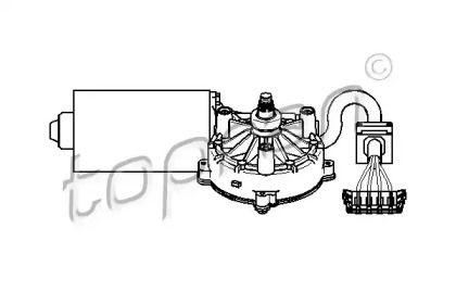 Моторчик двірників TOPRAN 401 531.