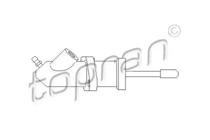 Робочий циліндр зчеплення TOPRAN 500 507.