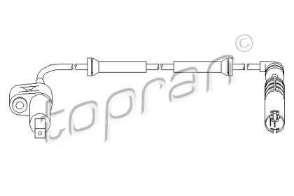 Датчик АБС передній TOPRAN 500 979.