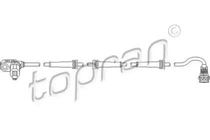 Датчик АБС задній TOPRAN 721 607.