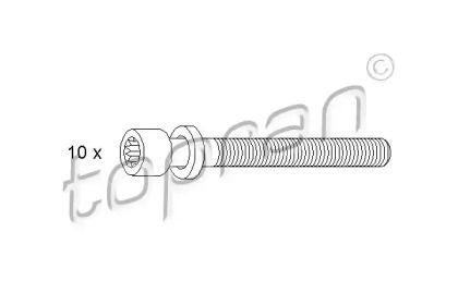 Болт ГБЦ (комплект) TOPRAN 109 546.