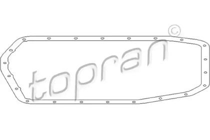 Прокладка поддона АКПП 'TOPRAN 500 786'.