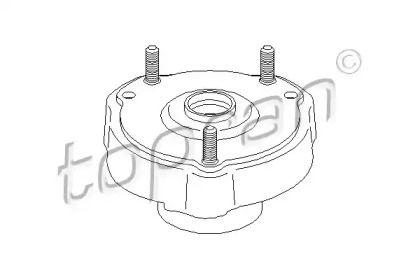 Опора переднього амортизатора на Мерседес W211 TOPRAN 407 800.