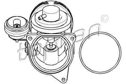 Клапан ЄГР (EGR) TOPRAN 113 159.