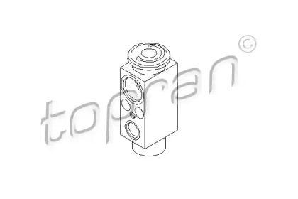 Розширювальний клапан кондиціонера на Мерседес W211 TOPRAN 407 785.