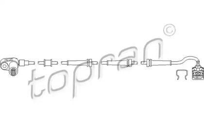Датчик АБС задній TOPRAN 722 803.