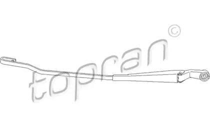 Рычаг стеклоочистителя правый на Фольксваген Пассат 'TOPRAN 113 487'.